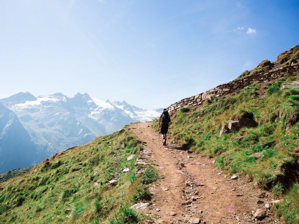 Hike grand paradiso